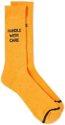 N/A Socks N/A Sock Handle with Care