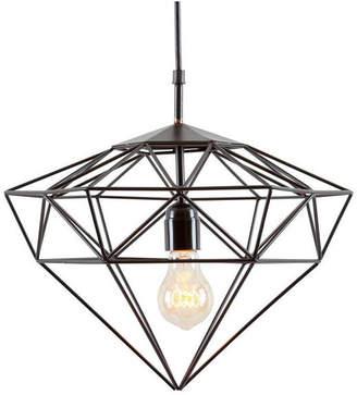 Light Society Sussex Small Pendant Light in Matte Black