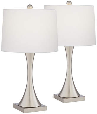 Pacific Coast Metal Table Lamps - Set of 2