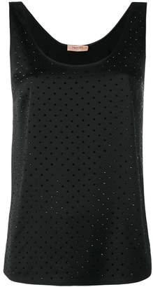 Twin-Set sleeveless tank top