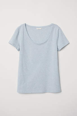 H&M Jersey Top - Blue