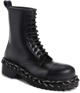 Balenciaga Rope Combat Boot