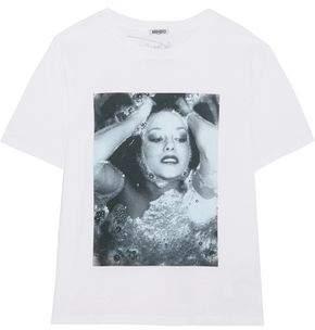 Kenzo Printed Cotton-Jersey T-Shirt