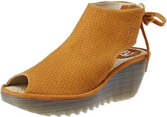 Fly London Womens Ypul 799 Nubuck Sandals 38 EU