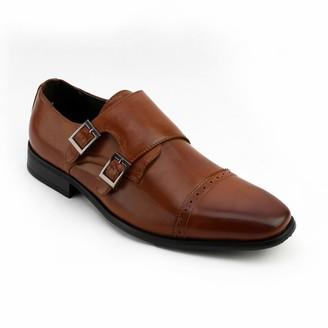 X-Ray Xray XRay Kimble Men's Monk-Strap Dress Shoes