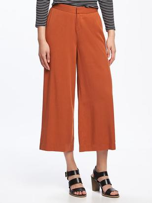 High-Rise Wide-Leg Crops for Women $34.94 thestylecure.com