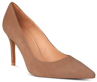 Whistles Women's Cornel Suede Pointed Toe Pumps