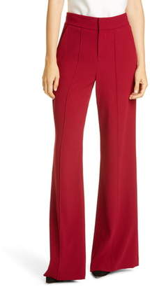 Alice + Olivia Dylan High Waist Wide Leg Pants