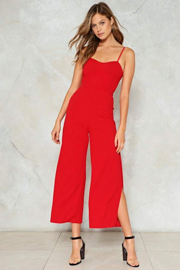 nastygal Melody of Love Sweetheart Jumpsuit