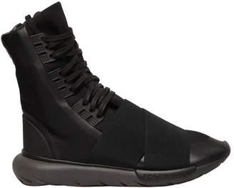 Y-3 Qasa Boot Nylon High Top Sneakers
