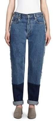 Acne Studios Dip-Dye Distressed Jeans