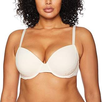 Madeline Kelly Women's Micro with Lace Sling Push up Full Figure Bra