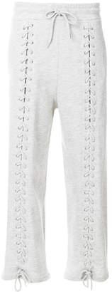 McQ lace-up detail sweatpants