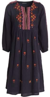 Antik Batik Sharlen Embroidered Cotton-Gauze Dress