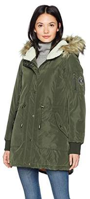 Madden-Girl Women's High and Low Anorak