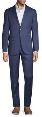John Varvatos Classic Fit Pinstripe Wool Suit