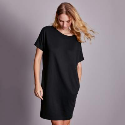 Double Faced Cocoon Dress