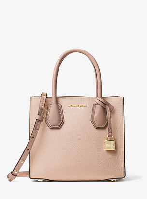 Michael Kors Mercer Color-Block Leather Crossbody