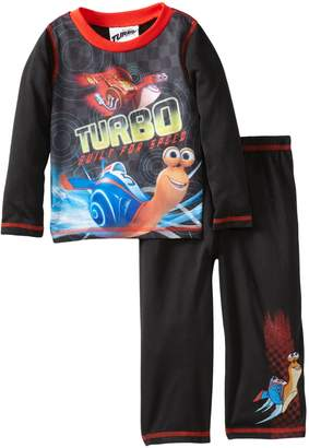 Komar Kids Turbo and Burn Built for Speed Toddler Pajamas for Little Boys