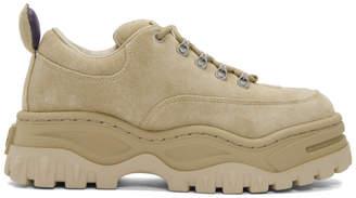 Eytys SSENSE Exclusive Tan Suede Angel Sneakers
