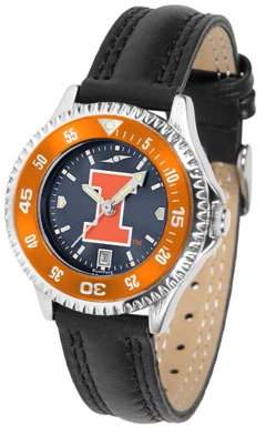 Suntime Illinois Women's Competitor AnoChrome - Color Bezel Watch