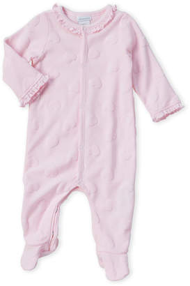 Absorba Newborn Girls) Pink Heart Footie