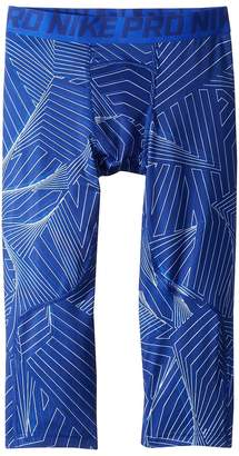 Nike Pro 3/4 Print Training Legging Boy's Clothing