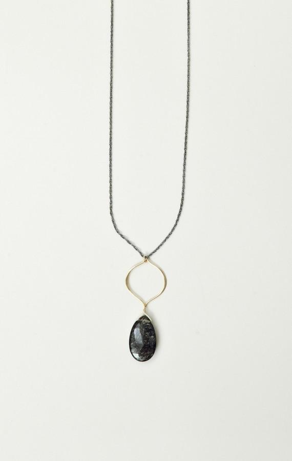 Soixante Neuf Arabesque Pendant Drop Necklace