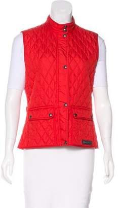 Belstaff Quilted Lightweight Vest
