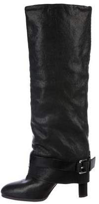 Theory Leather Knee-High Boots