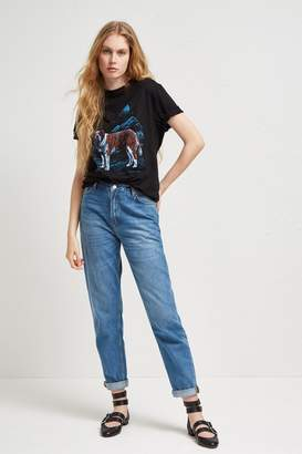French Connection Soft Authentic 90S Gaucho Jeans