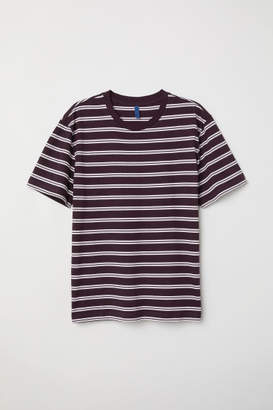 H&M Striped T-shirt - Red