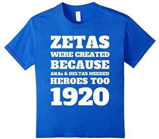 Zeta Phi Blue Beta White 1920 Women's T-Shirt