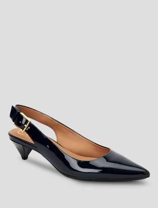 Calvin Klein lara patent leather pump