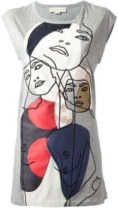Stella McCartney appliqué detail T-shirt
