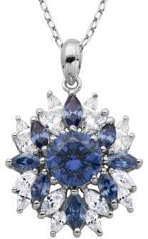 Lord & Taylor Cubic Zirconia Pendant Necklace