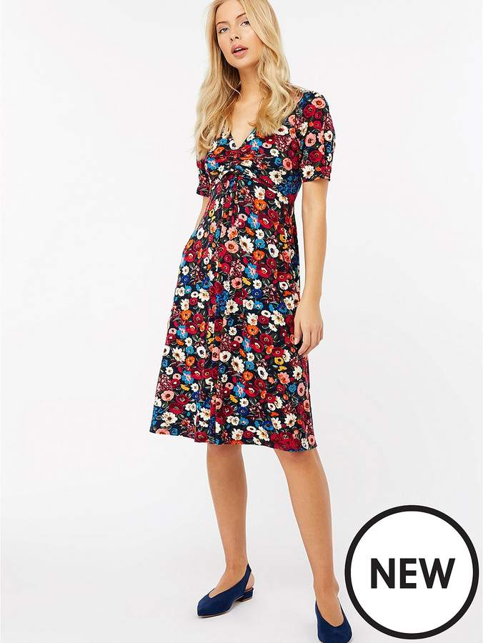 Mela Floral Printed Dress