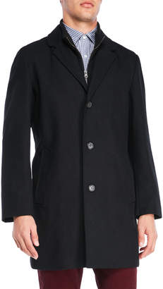 Tommy Hilfiger Bruce Bib Wool-Blend Coat