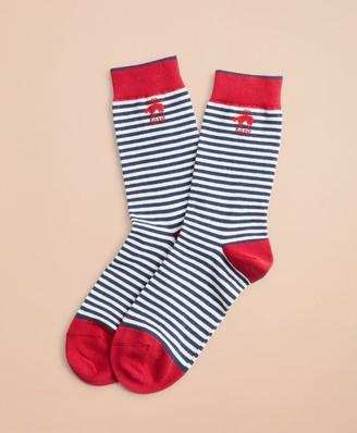 Brooks Brothers Striped Socks