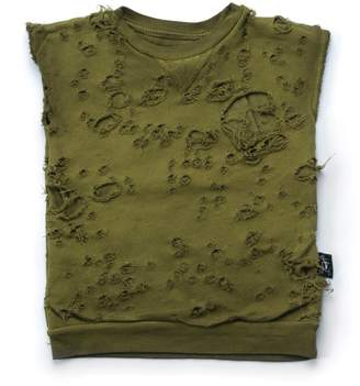 Nununu Boy's Torn Sleeveless Shirt