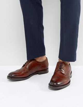 Ted Baker Senape Derby Brogue Shoes