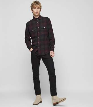 Reiss Union Checked Overshirt