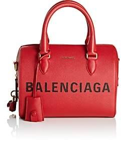 Balenciaga Women's Ville Leather Satchel - Red