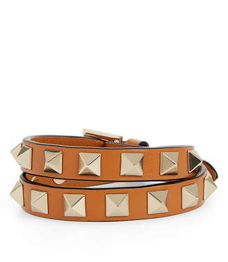 96ba0a039583 Valentino Rockstud Double Wrap Bracelet