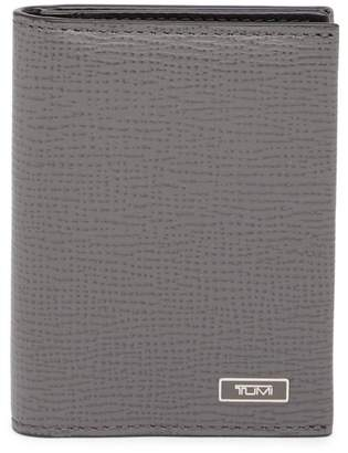 Tumi Gusseted Bifold Leather Card Case
