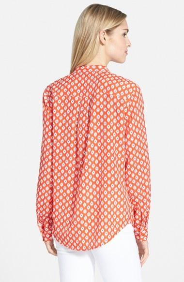 MICHAEL Michael Kors ' Multi Shore Ikat' Zip Pocket Shirt 2