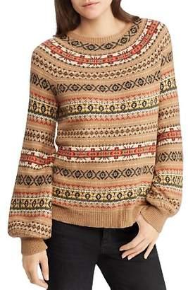 Ralph Lauren Fair Isle Intarsia Sweater - 100% Exclusive