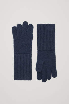 Cos KNITTED CASHMERE GLOVES