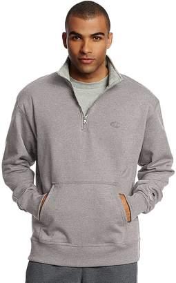 Champion Men's Fleece Powerblend Quarter-Zip Pullover
