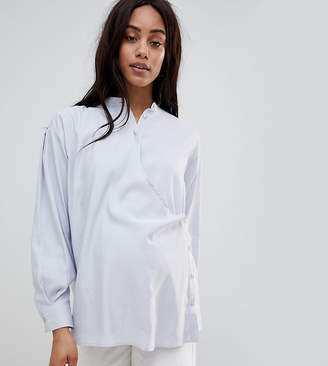 Asos Maternity Wrap Shirt